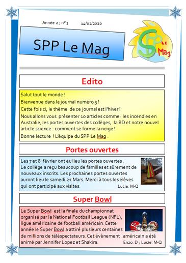 SPP Le Mag n°3 0